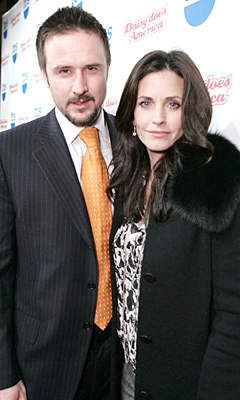 David Arquette and Courteney Cox by Chris Weeks/WireImage.com